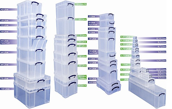 Really Useful Boxes range  sc 1 st  Really Useful Products & Really Useful Boxes Inc - Box Details