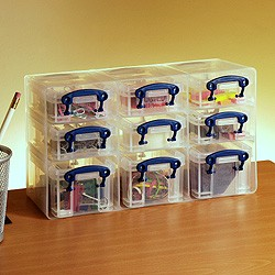 0.2 & 0.3 litre Really Useful Organiser Pack