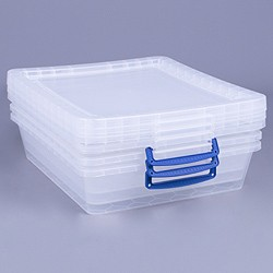 10.5 litre nestable Really Useful Box (3 pack)