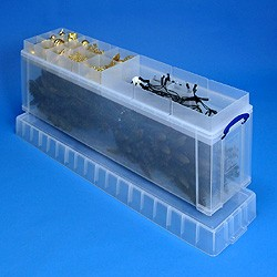 77 litre Really Useful Box + 77 litre bauble insert + 77 litre light tidy insert