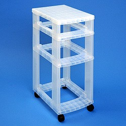 Storage tower WITHOUT 1x7 + 1x12 + 1x25 litre Really Useful Drawers