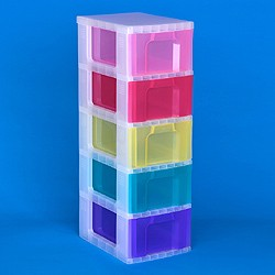 Storage tower with 5x12 litre Really Useful Drawers ...  sc 1 st  Really Useful Products & Go Shopping - Really Useful Boxes - Storage towers - Storage tower ...
