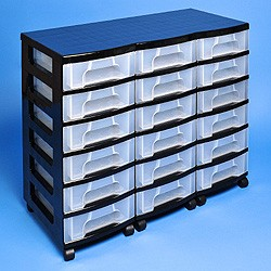 Storage tower triple with 18x7 litre Really Useful Drawers ...  sc 1 st  Really Useful Products & Go Shopping - Really Useful Boxes - Storage towers - Storage tower ...