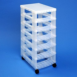 Storage tower WITHOUT 6x7 litre Really Useful Drawers
