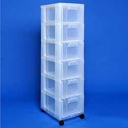 ... Storage Tower With 6x12 Litre Really Useful Drawers ...