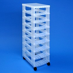 Storage tower WITHOUT 8x7 litre Really Useful Drawers