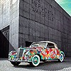 1952 Mercedes-Benz 220A. The Rose Car, painted by Hiro Yamagata