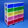 Storage tower triple with 5x12 + 5x30 litre Really Useful Drawers