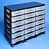 Storage tower triple with 18x7 litre Really Useful Drawers